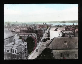 Photograph of Barrington Street in Halifax, Nova Scotia