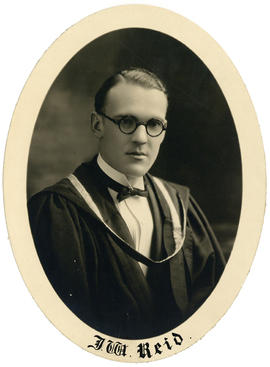 Portrait of James William Reid : Class of 1926