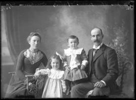 Photograph of Mr. James Thompson and family