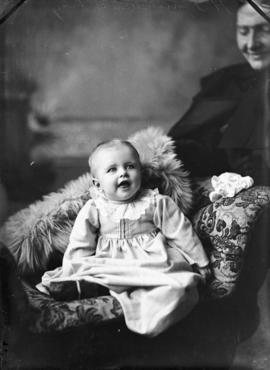 Photograph of H. J. Sutherland's baby