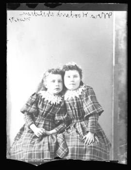 Photograph of Mrs. Wooden's daughters