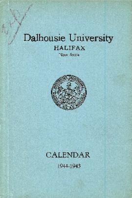 Academic calendar for the 1944/1945 session of Dalhousie University