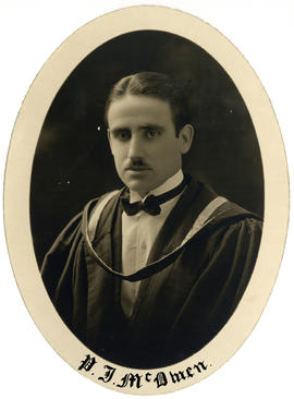 Portrait of Peter James McOwen : Class of 1926