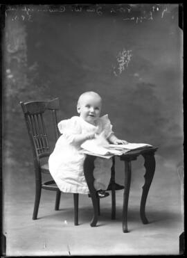 Photograph of the baby of Mrs. James Cavanagh