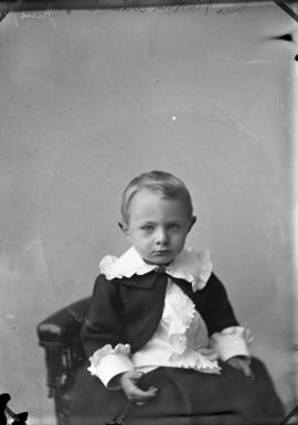 Photograph of Mrs. J. A. Kirk's child
