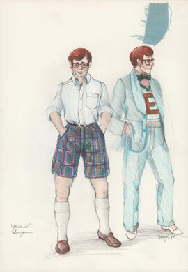 Costume design for Eugene