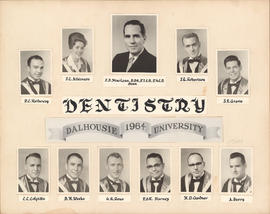 Dentistry class photograph - 1964