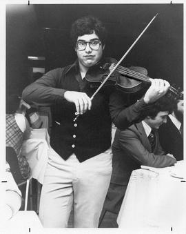 Photograph of a violinist
