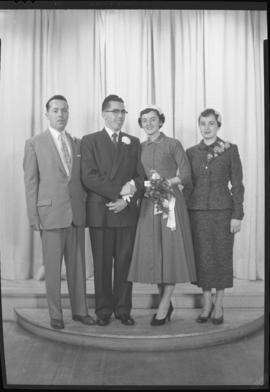 Photograph of Mr. and Mrs. Doug MacNaught and friends