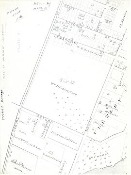 Plan of Studley Estate, site of Dalhousie University