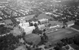 Aerial views of Studley campus