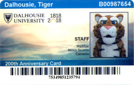 Dalcard for the Dalhousie Tiger