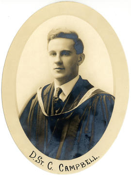 Portrait of Donald St. Clair Campbell : Class of 1917