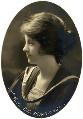 Portrait of Christine Catherine MacLeod : Class of 1922