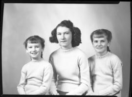 Photograph of Mrs. Johnstone's daughters