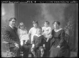 Photograph of Allan McDonald and family