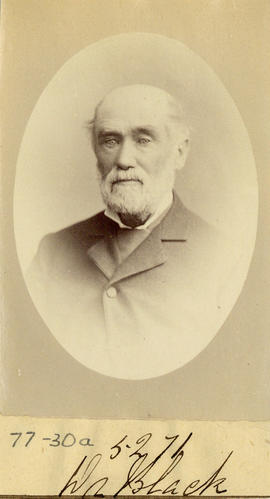 Portrait of Dr. Black from the Medical Society of Nova Scotia