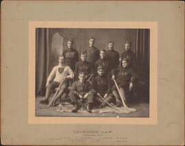 Photograph of Dalhousie Law ice hockey champions
