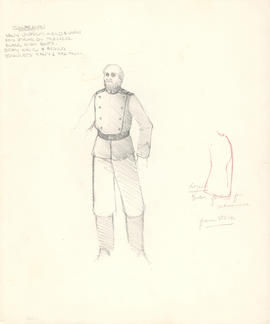 Costume design for Shamrayev
