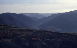 Photograph of the Mosel Valley from Lasserg