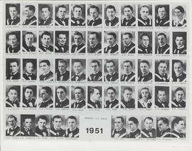 Photograph of Faculty of Medicine - Class Photo 1951