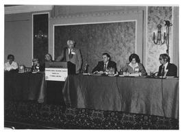 Photograph of the 77th annual meeting of the Canadian Public Relations Society