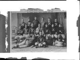 Photograph of the St. Francis Xavier University football team