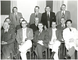 Photograph of the members of the Department of Anaesthetics