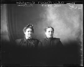 Photograph of Mrs. Alex Reid & her daughter