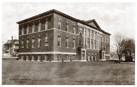 Postcard of Dalhousie University Medical Science Laboratories