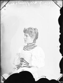 Photograph of Ella J. Huggan