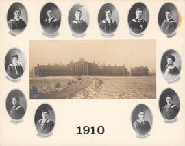 Composite Photograph of the Faculty of Medicine - Class of 1910