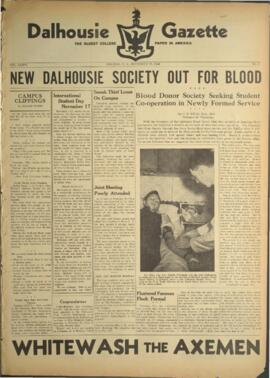 Dalhousie Gazette, Volume 76, Issue 6