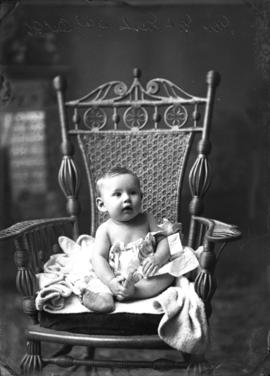 Photograph of Mrs. McNeil's baby
