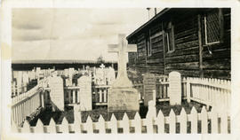 Photograph of the graves of Inspector Francis J. Fitzgerald and his party