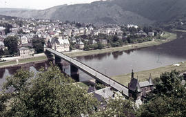 Photograph of Cochem from the Mosel Valley