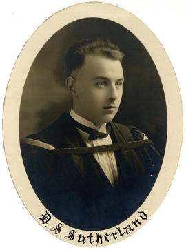 Portrait of David Stockley Sutherland : Class of 1925