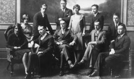 Photograph of 1931 Student Council class presidents