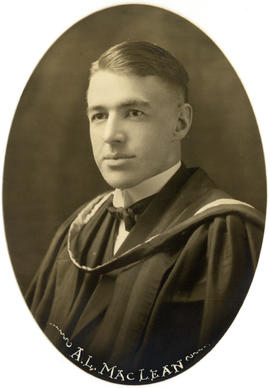 Portrait of Angus Lloyd MacLean : Class of 1922