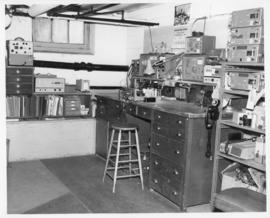 Photograph of an Island Telephone Company office