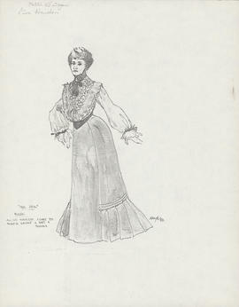 Costume design for Rose