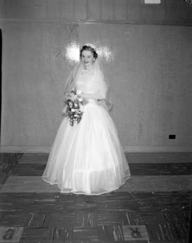 Photograph of Mrs. Wright at her wedding