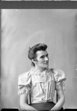 Photograph of Miss O'Brien
