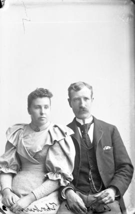 Photograph of Mr. and Mrs. A. Stewart