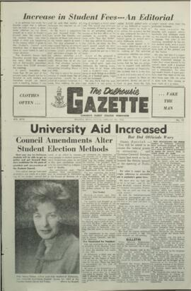 The Dalhousie Gazette, Volume 94, Issue 13