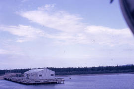 Photograph of a pier in Goose Bay, Newfoundland and Labrador