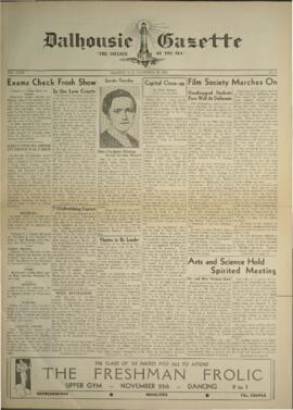 Dalhousie Gazette, Volume 71, Issue 8