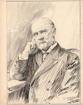 Rev. John Forrest, D.D. Third president, 1885–1911 : [drawing]