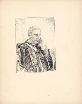 Rev. Allan Pollok, D.D. One of the Fathers of Reorganization in 1863 : [drawing]