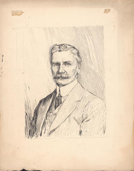 Arthur Lismer portrait of George Stewart Campbell commissioned for One hundred years of Dalhousie, 1818–1918 : [drawing]